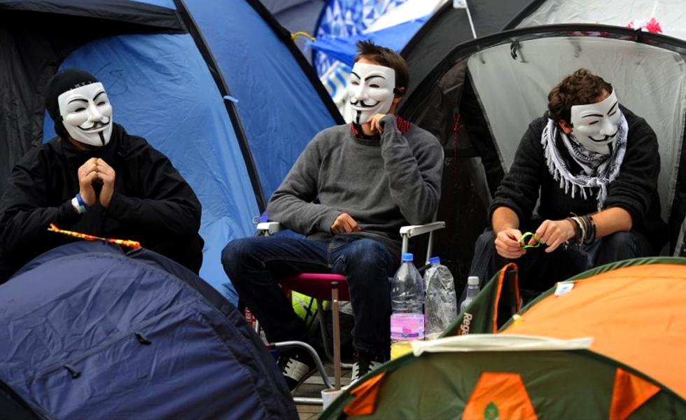 Expreso a Oriente - Occupy Frankfurt
